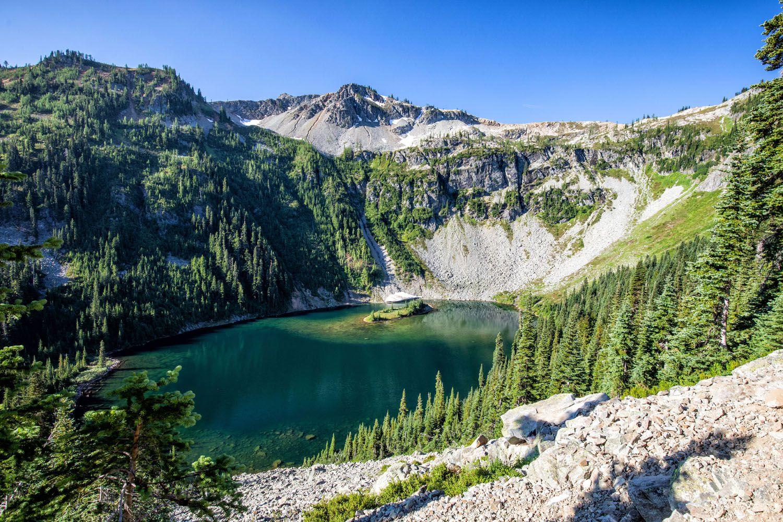 View of Lake Ann