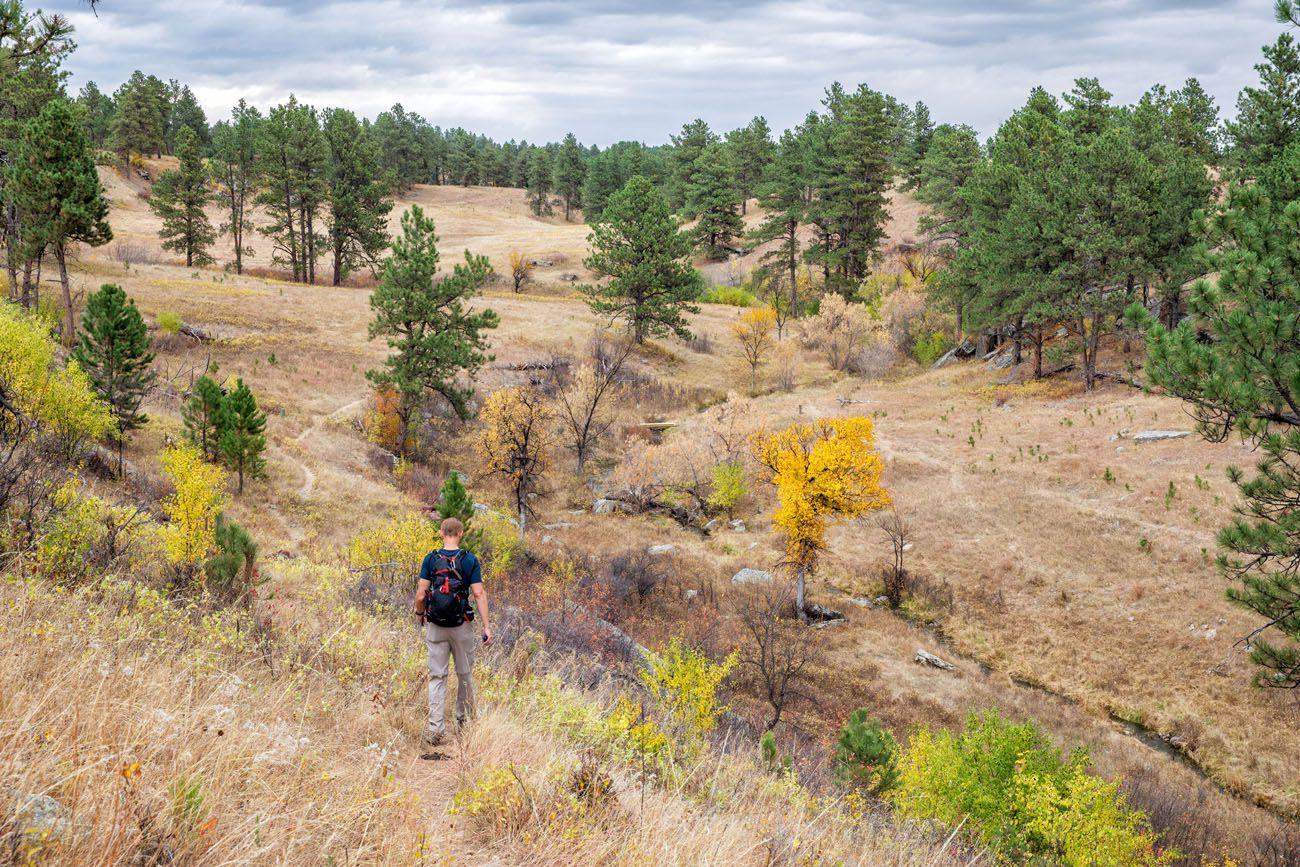 Wind Cave Hike South Dakota itinerary