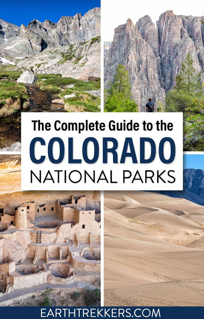 Colorado National Parks Guide Itinerary