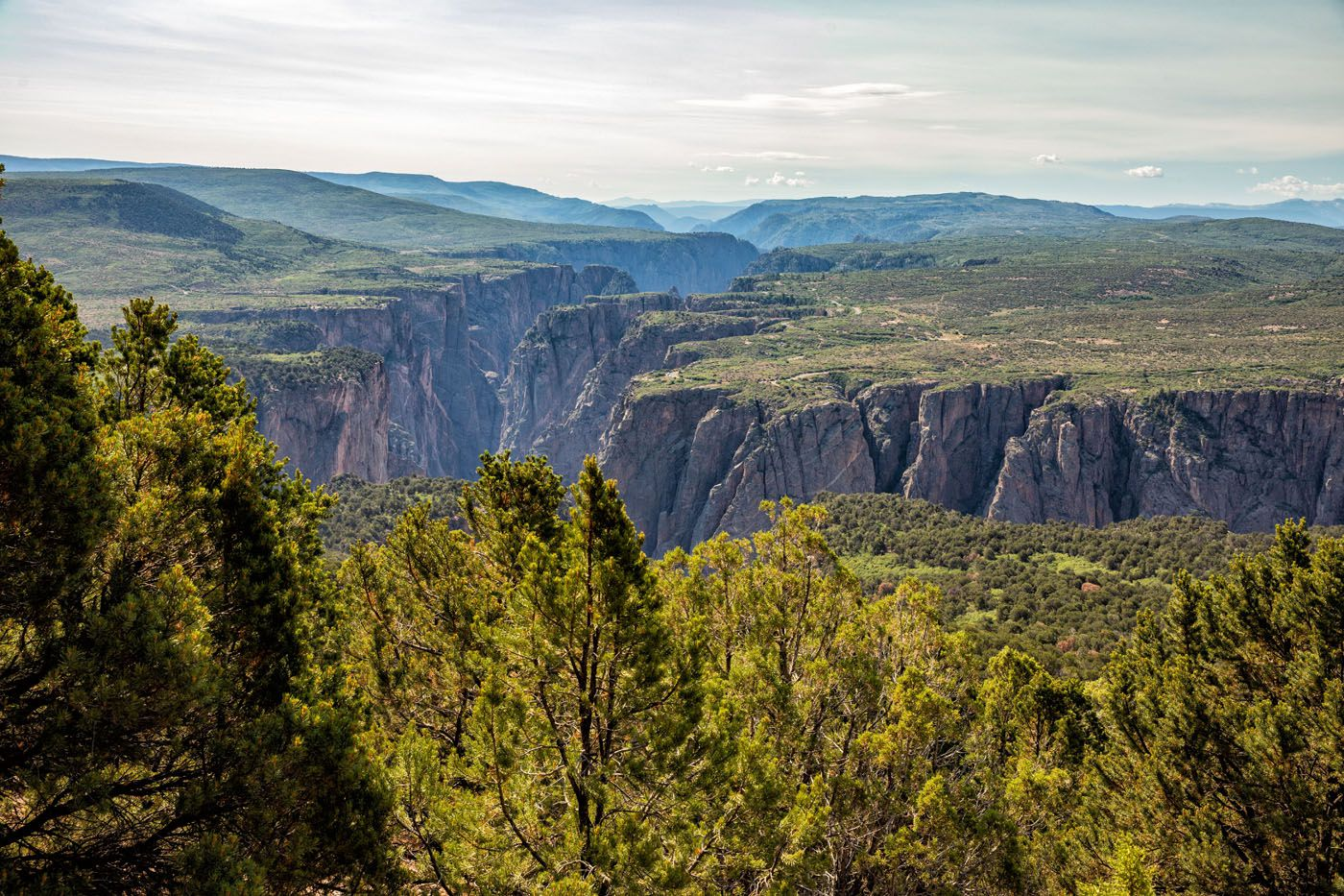Green Mountain View how to visit the Black Canyon of the Gunnison