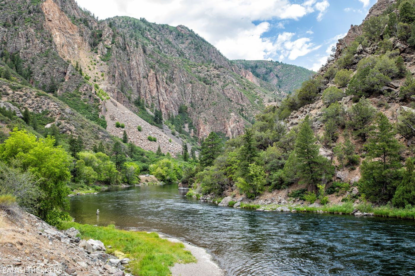 Gunnison River how to visit the Black Canyon of the Gunnison