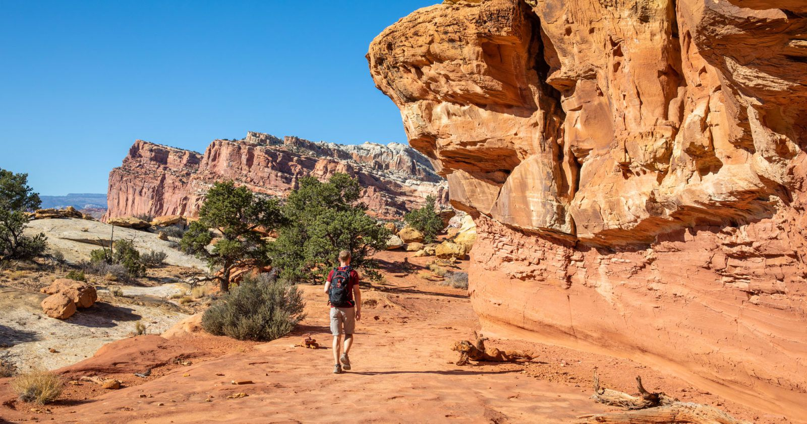 Hikes in Capitol Reef