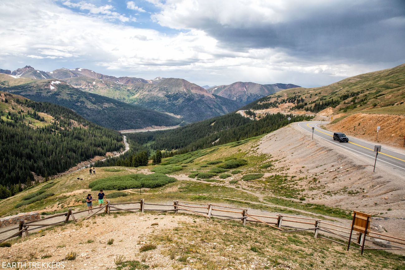 Loveland Pass Colorado itinerary