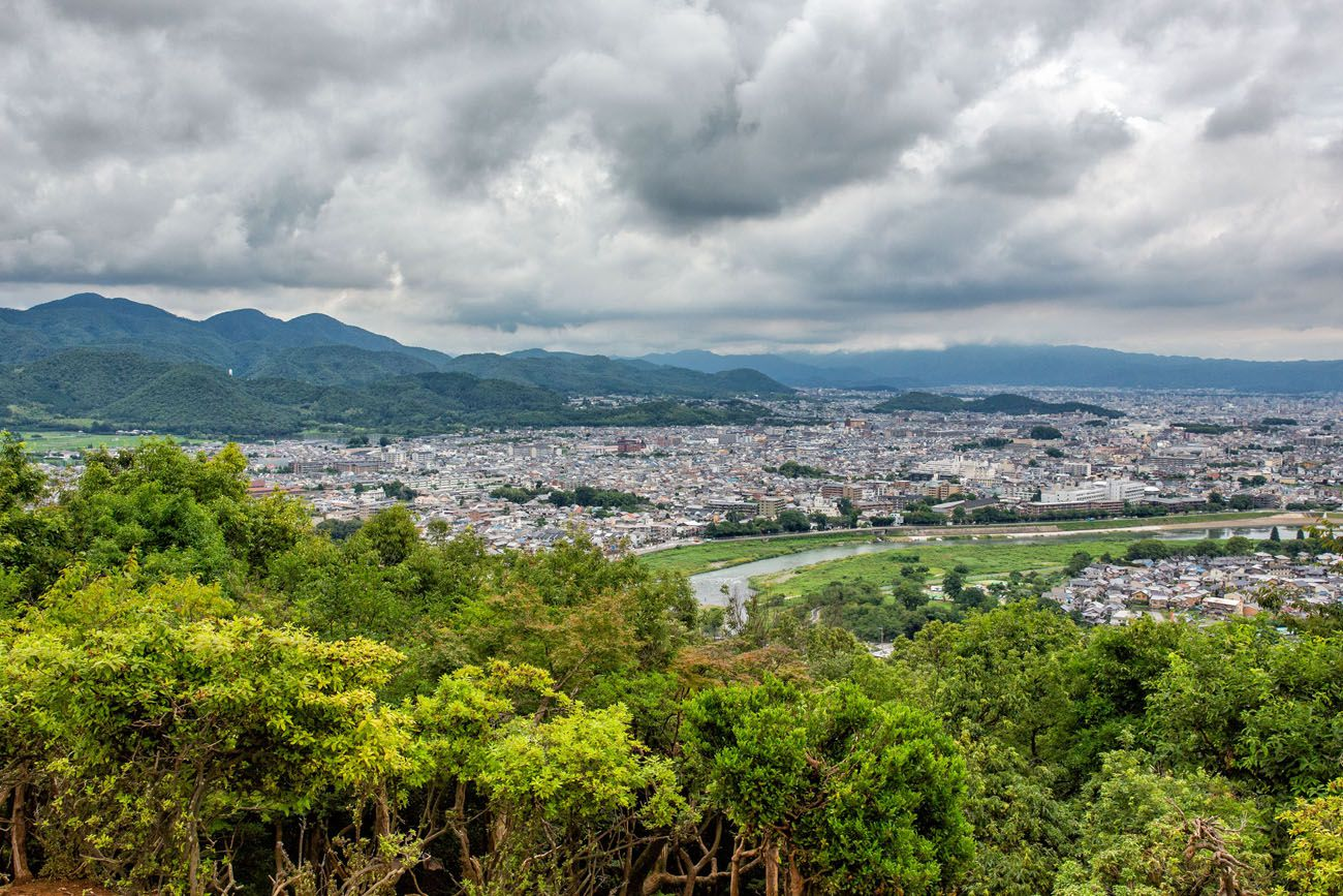 Monkey Park View best things to do in Kyoto