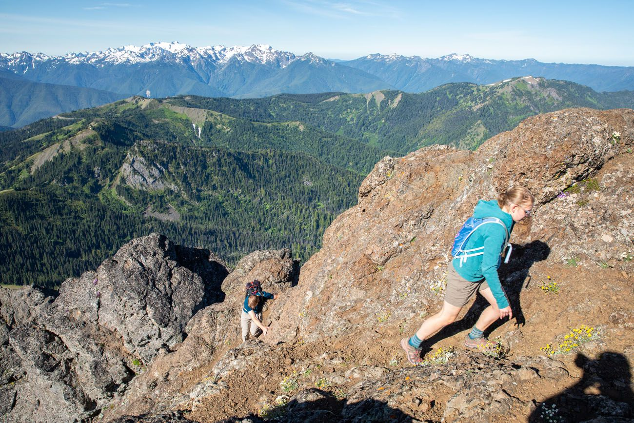Mount Angeles Rock Scrambling