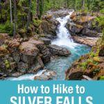 Mount Rainier Hike Silver Falls