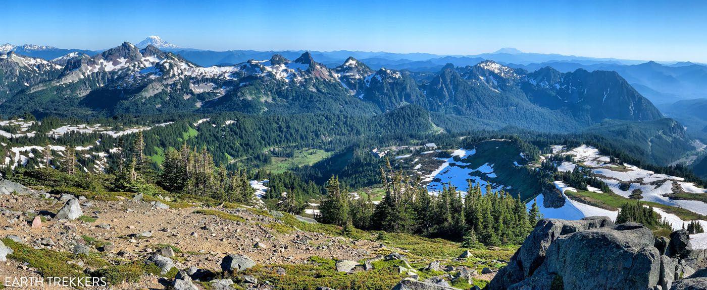 Mount Rainier Panorama best things to do in Mount Rainier