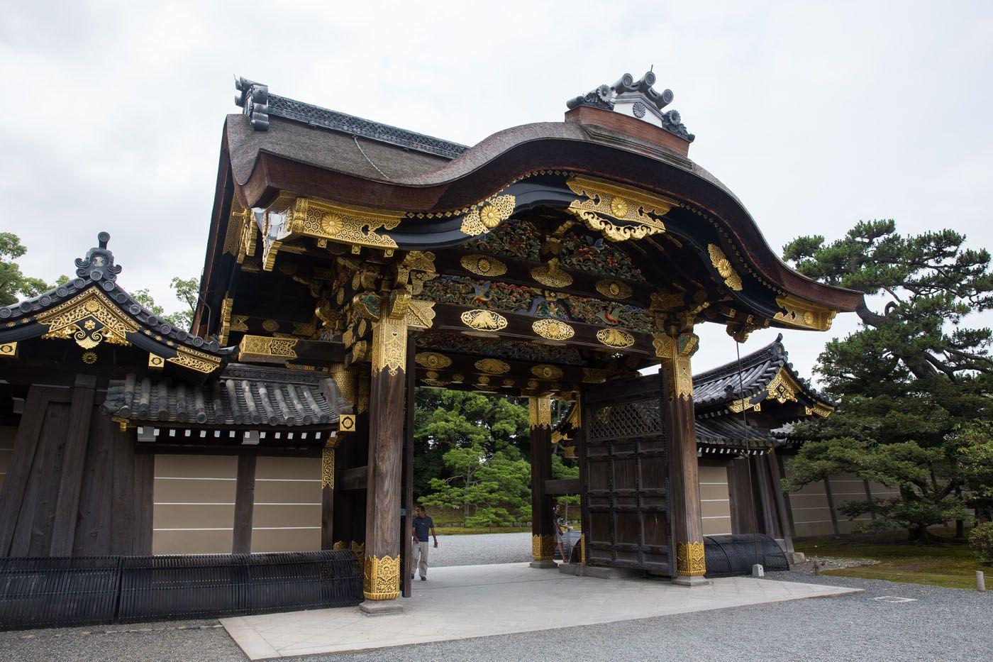 Nijo Castle Gate