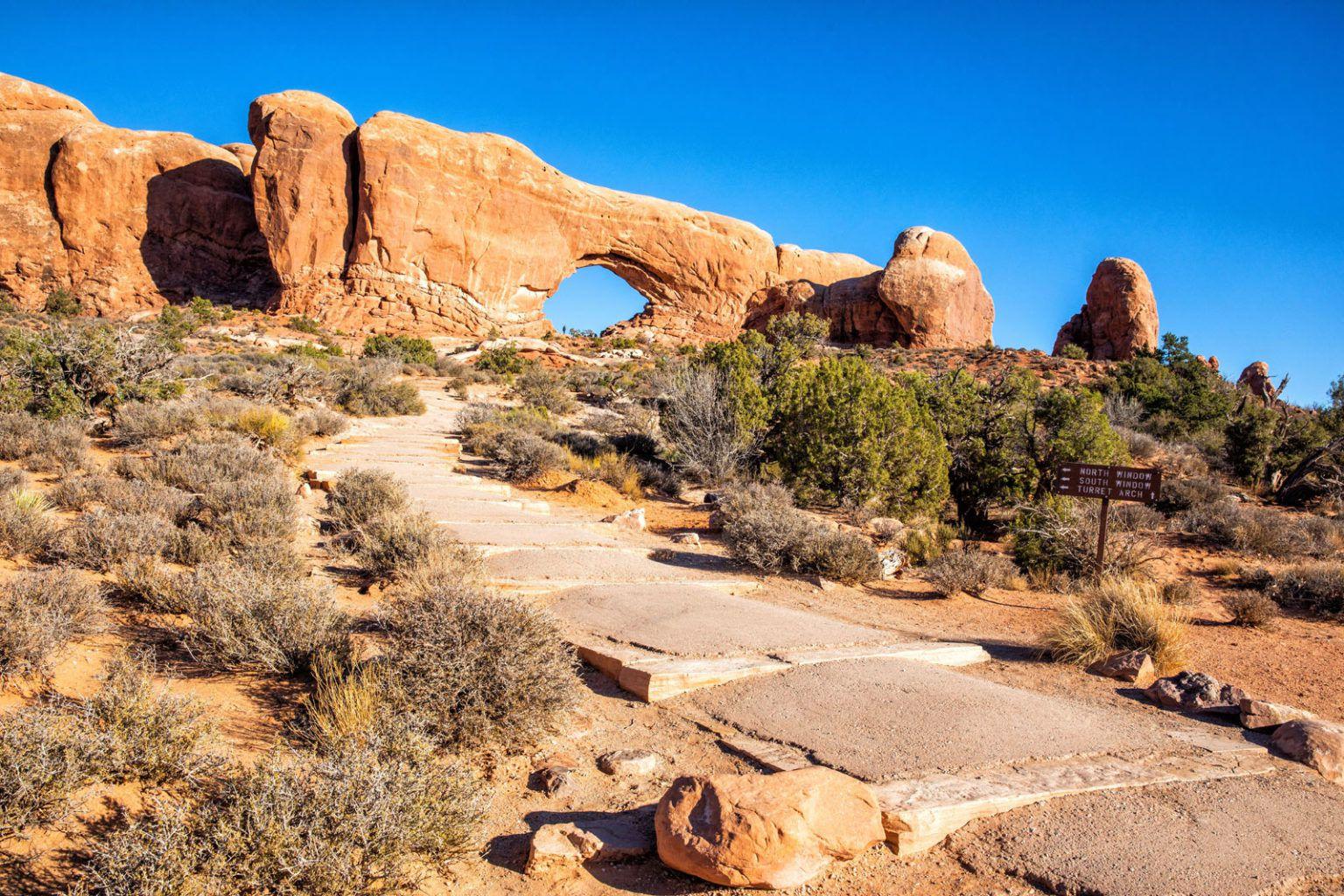 North Window Arch