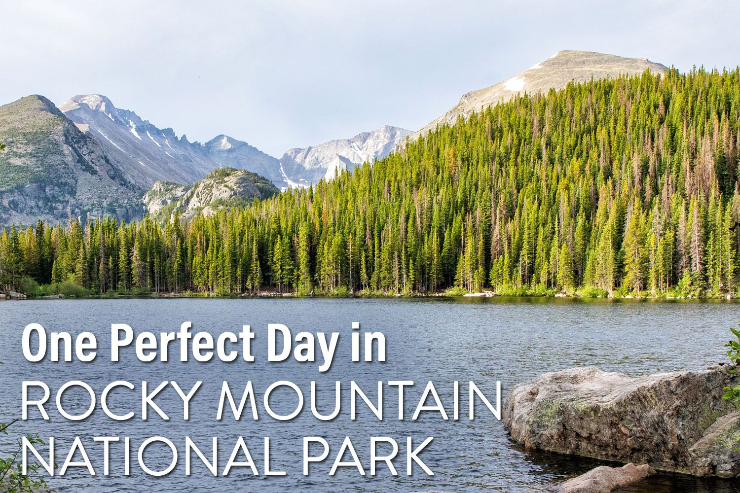 One Day in Rocky Mountain National Park