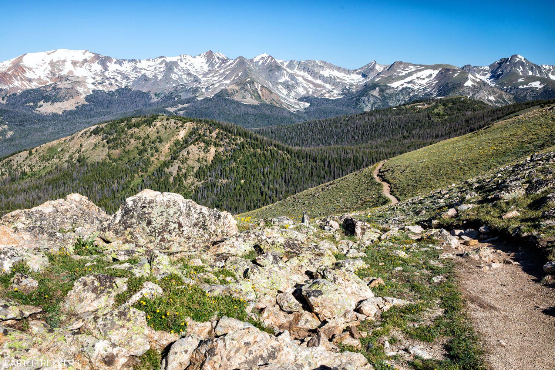 Rocky Mountain Hike Colorado itinerary