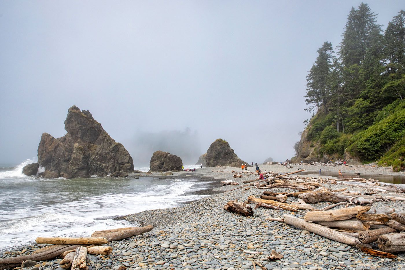Ruby Beach hikes in Olympic National Park