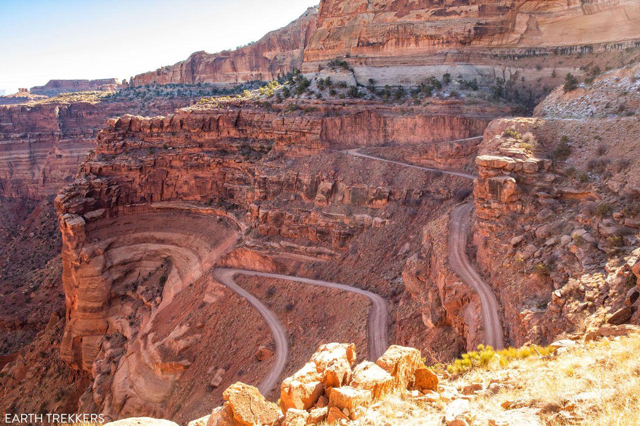 Shafer Canyon Switchbacks