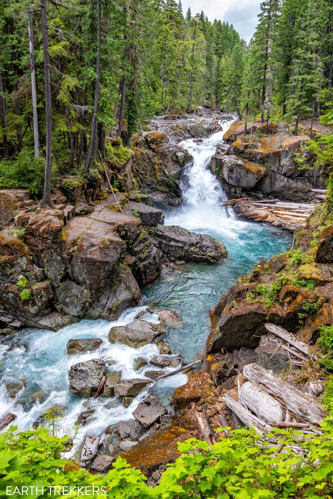 Silver Falls best things to do in Mount Rainier