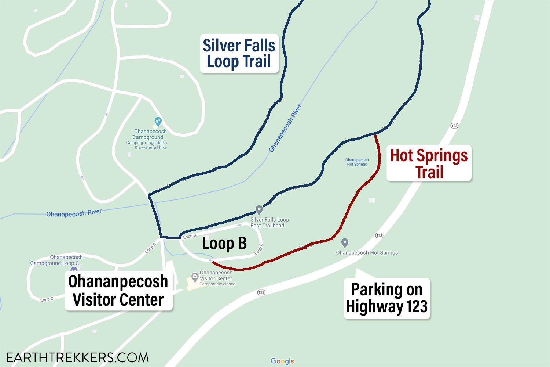 Silver Falls Loop Parking