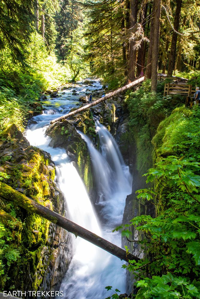 Sol Duc Falls hikes in Olympic National Park