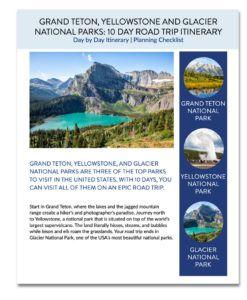 Teton Yellowstone PDF