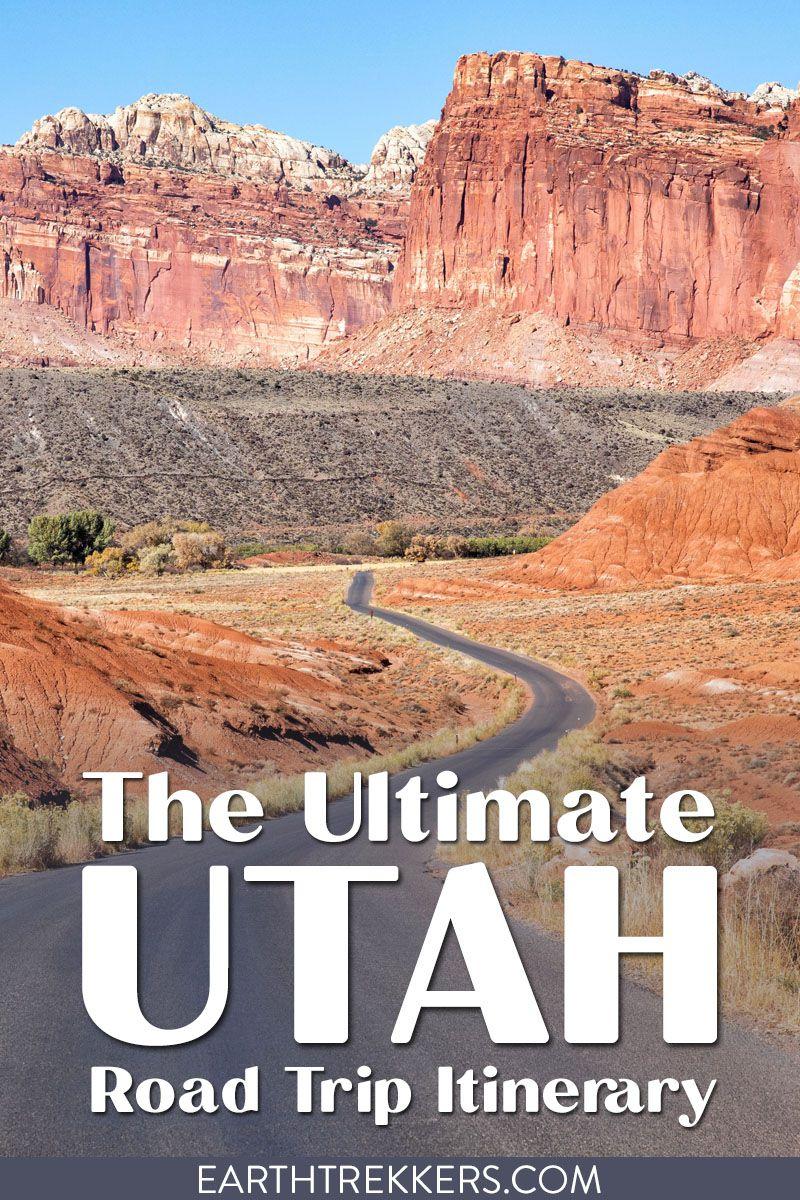 Utah Travel Itinerary Mighty 5