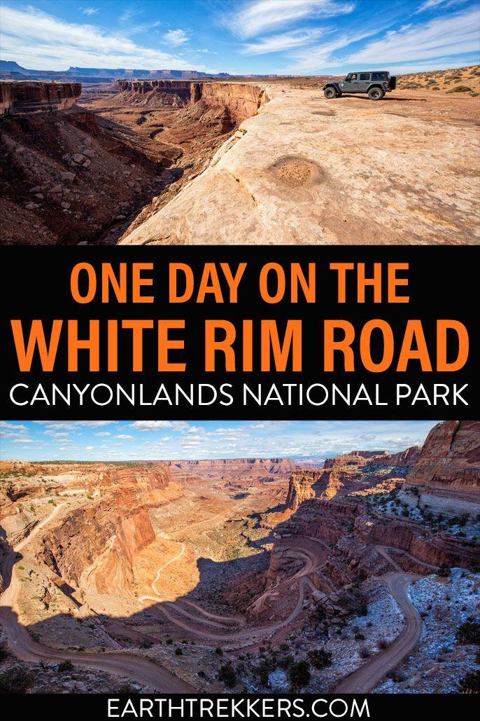 White Rim Road Canyonlands Moab