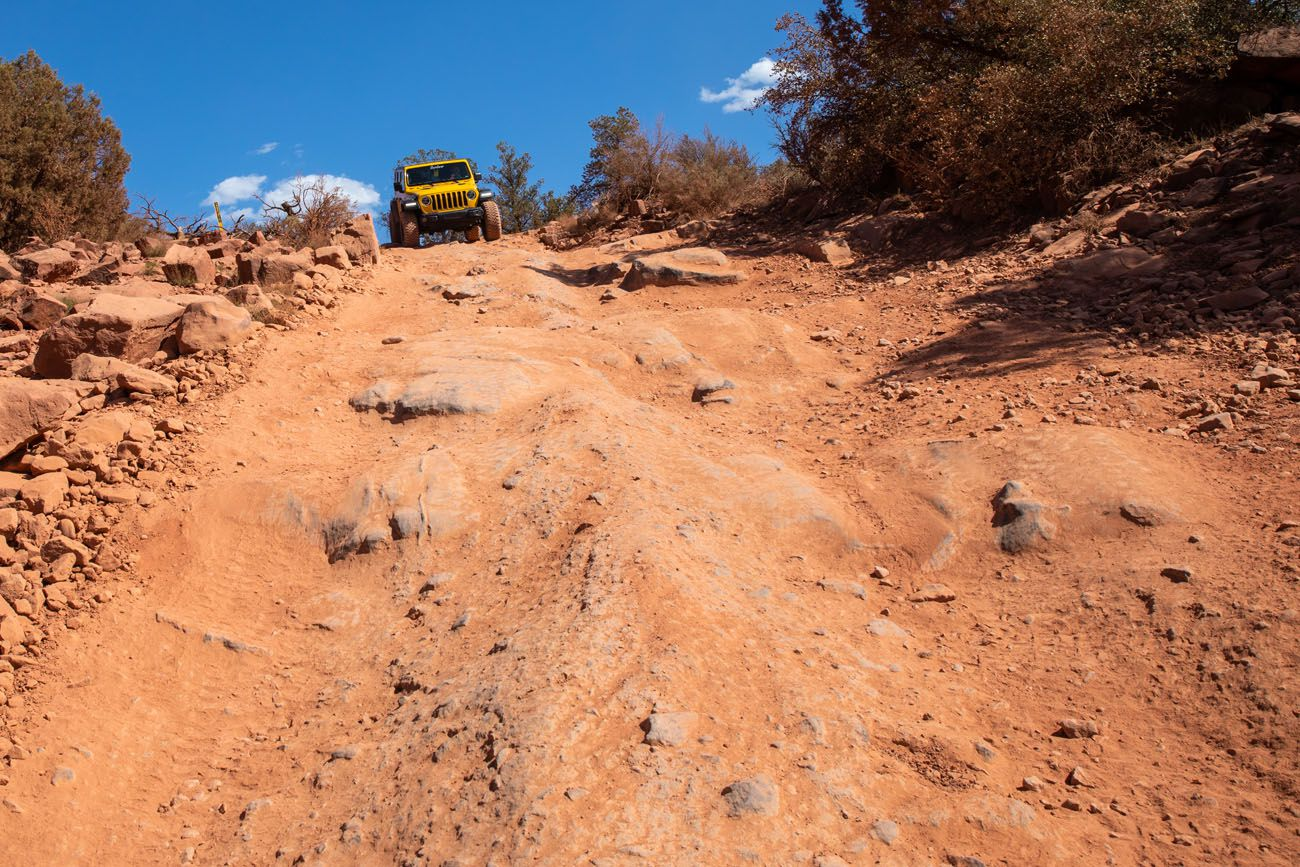 4WD Roads in Sedona Diamondback Gulch