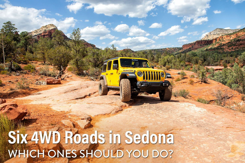 4WD Roads in Sedona
