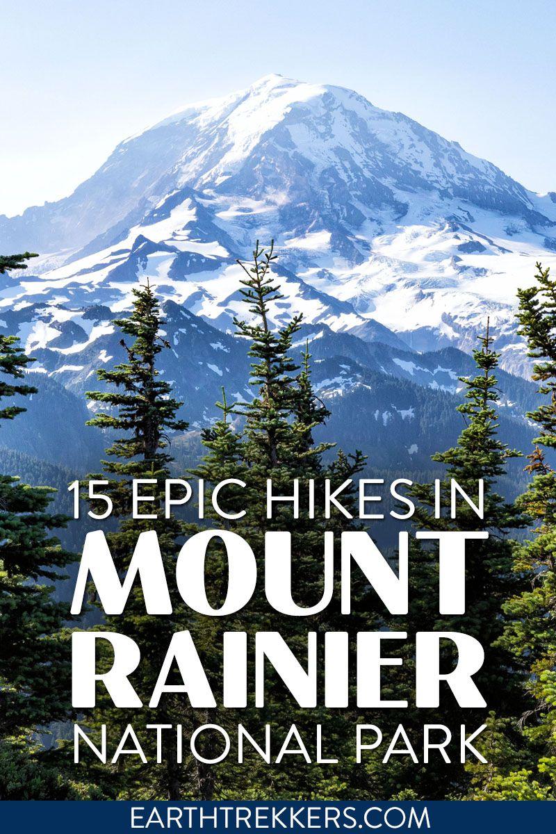 Best Hikes Mount Rainier NP