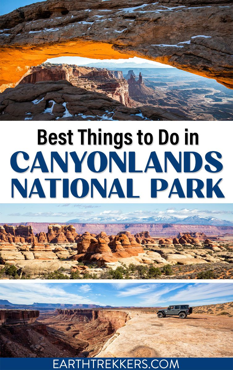 Best of Canyonlands National Park Utah Travel
