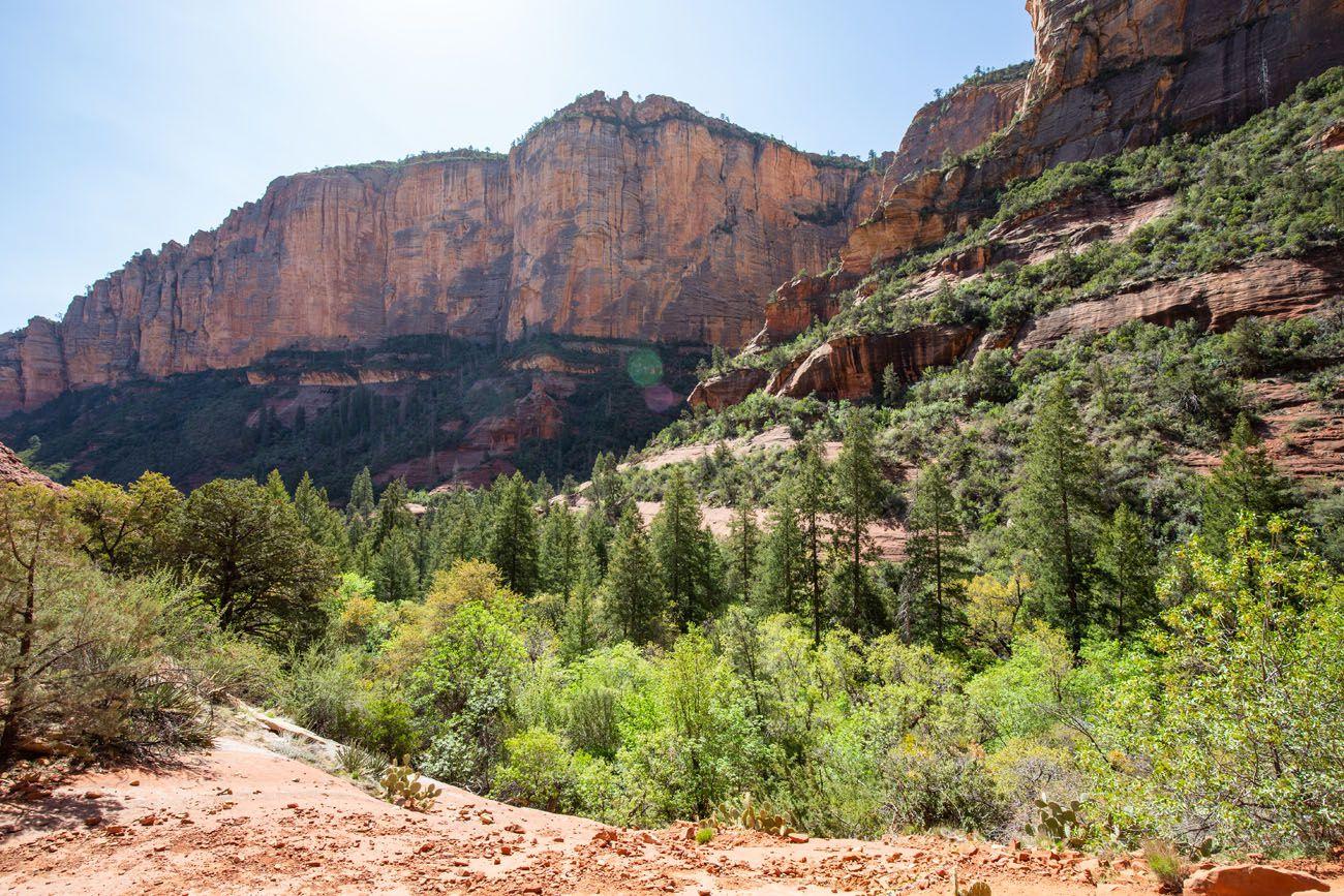 Boynton Canyon View