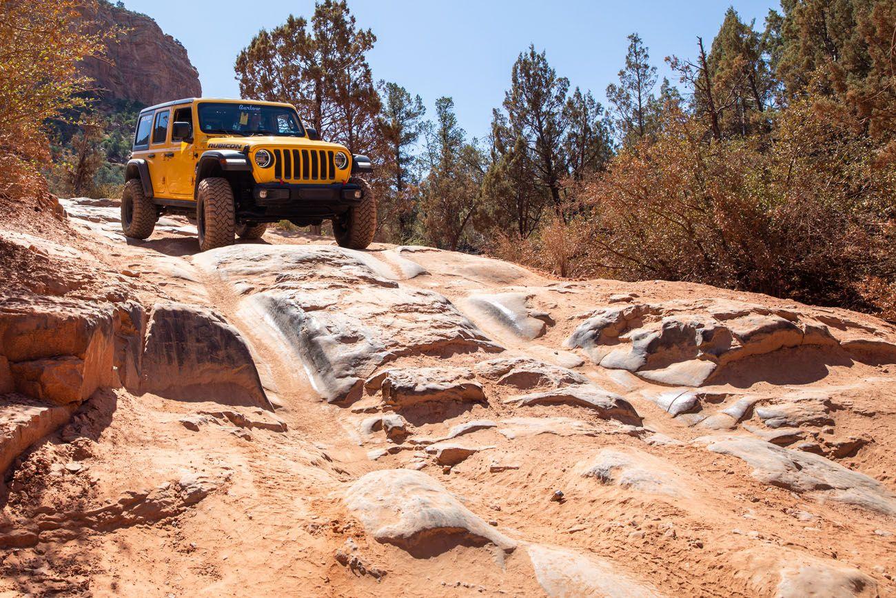 Broken Arrow Trail 4WD roads in Sedona