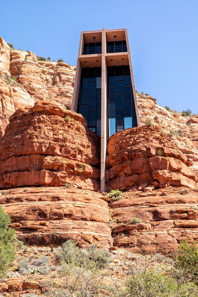 Chapel of the Holy Cross best things to do in Sedona