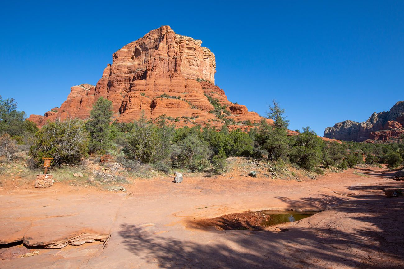 Courthouse Butte Wash