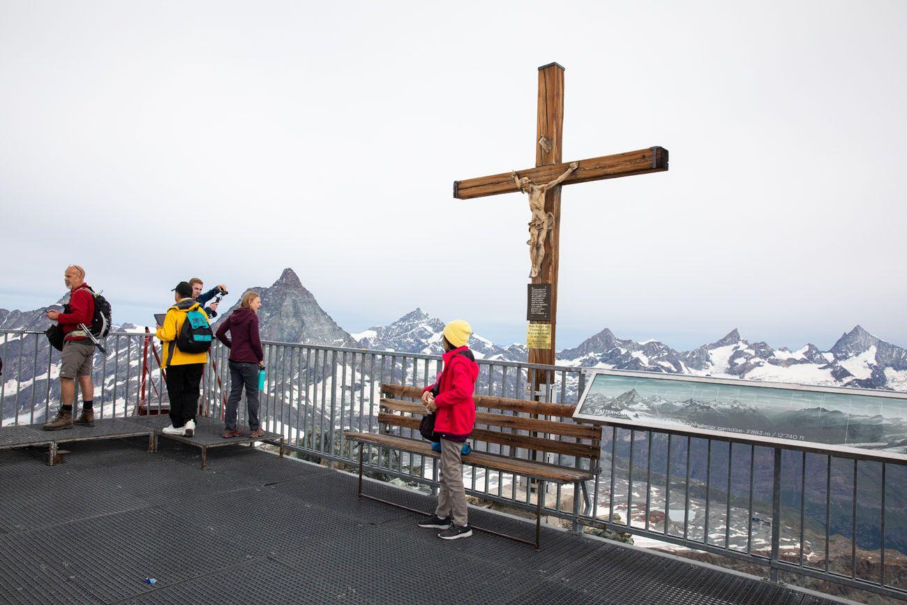 Glacier Paradise Viewing Platform