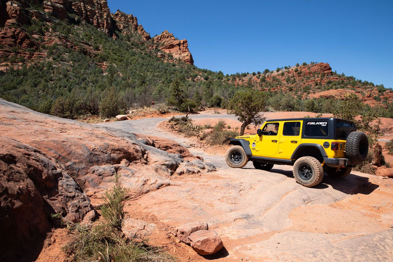 How to Drive Broken Arrow TrailHow to Drive Broken Arrow Trail