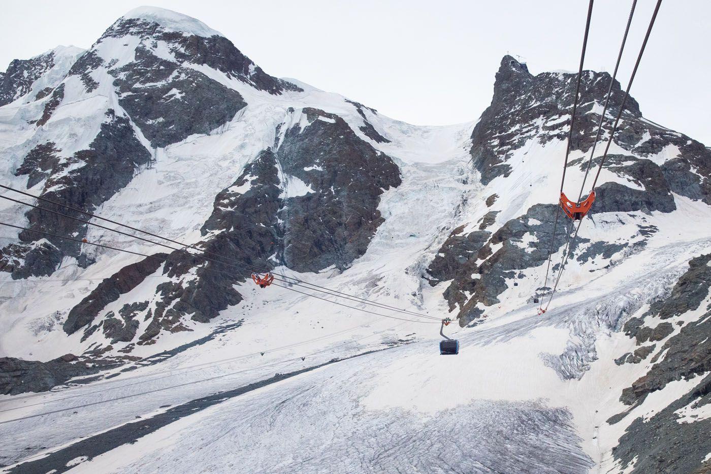 Klein Matterhorn Cable Car