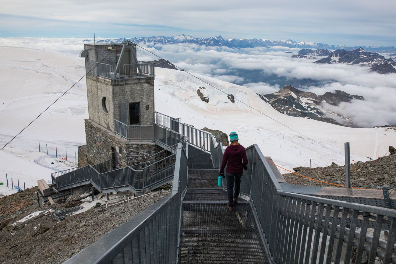 Matterhorn Glacier Paradise Steps