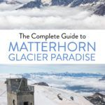 Matterhorn Glacier Paradise Zermatt Switzerland