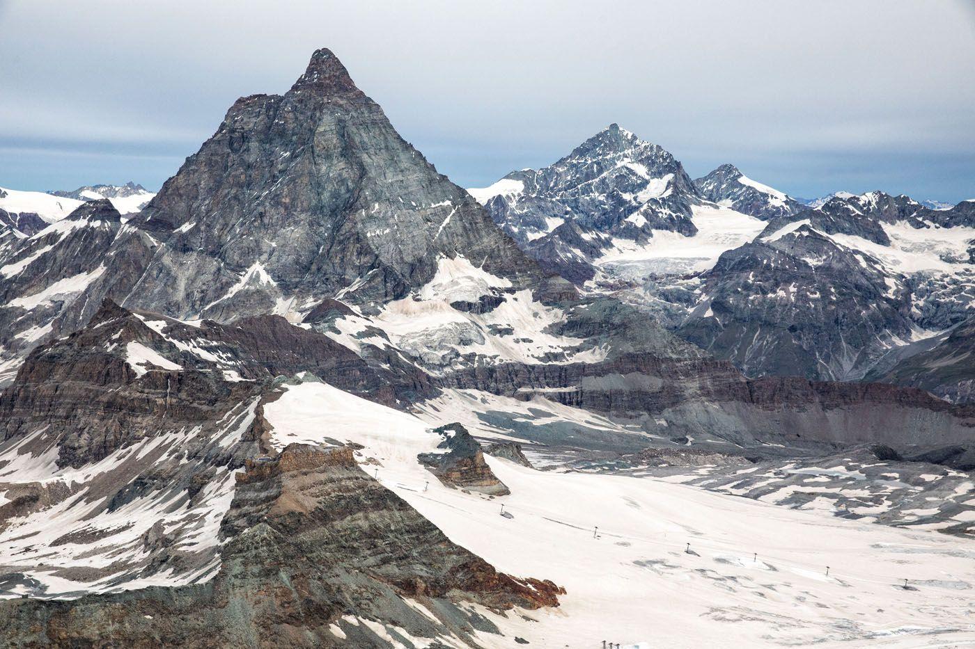 Matterhorn View Glacier Paradise