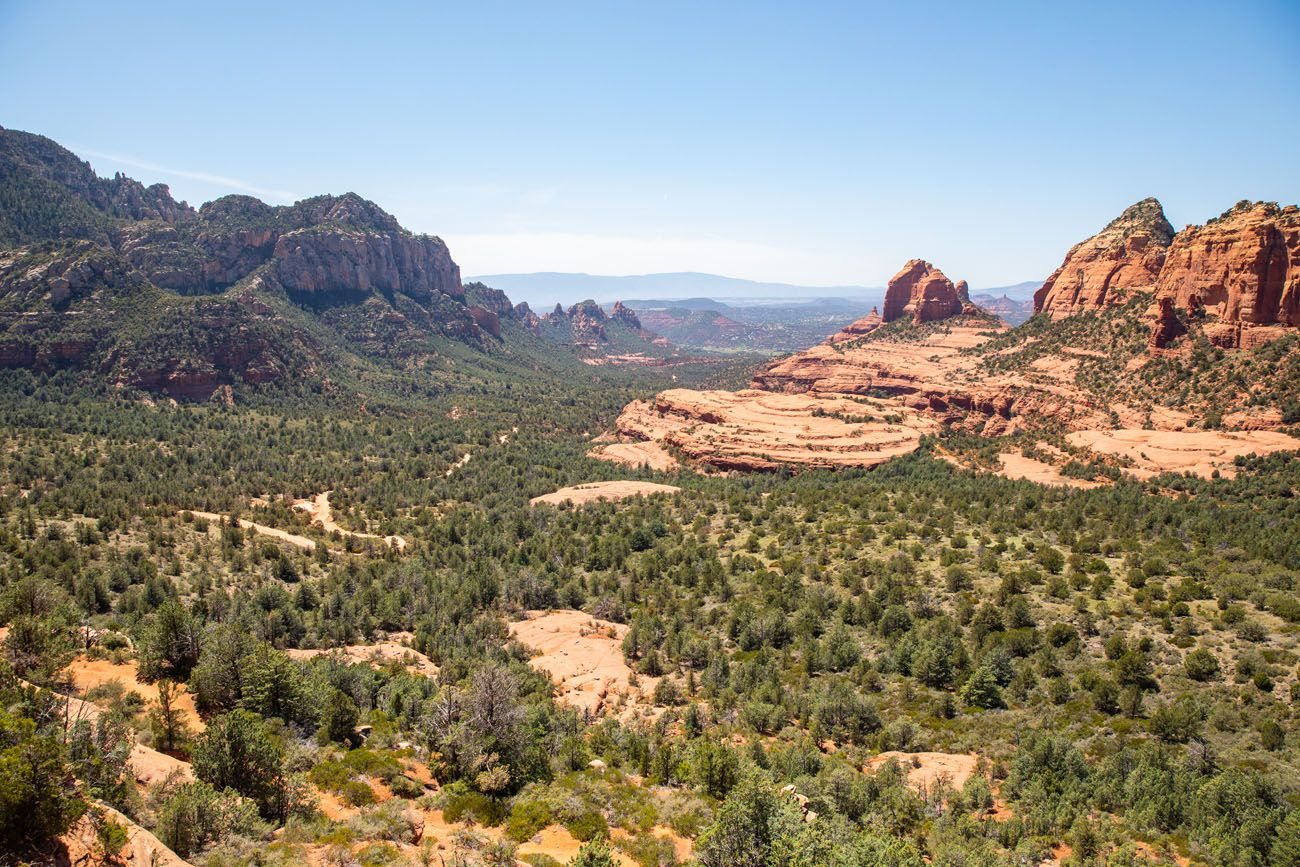 Schnebly Hill 4WD roads in Sedona