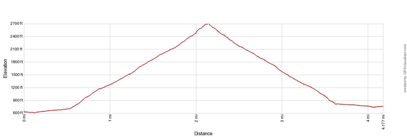 Storm King Elevation Profile