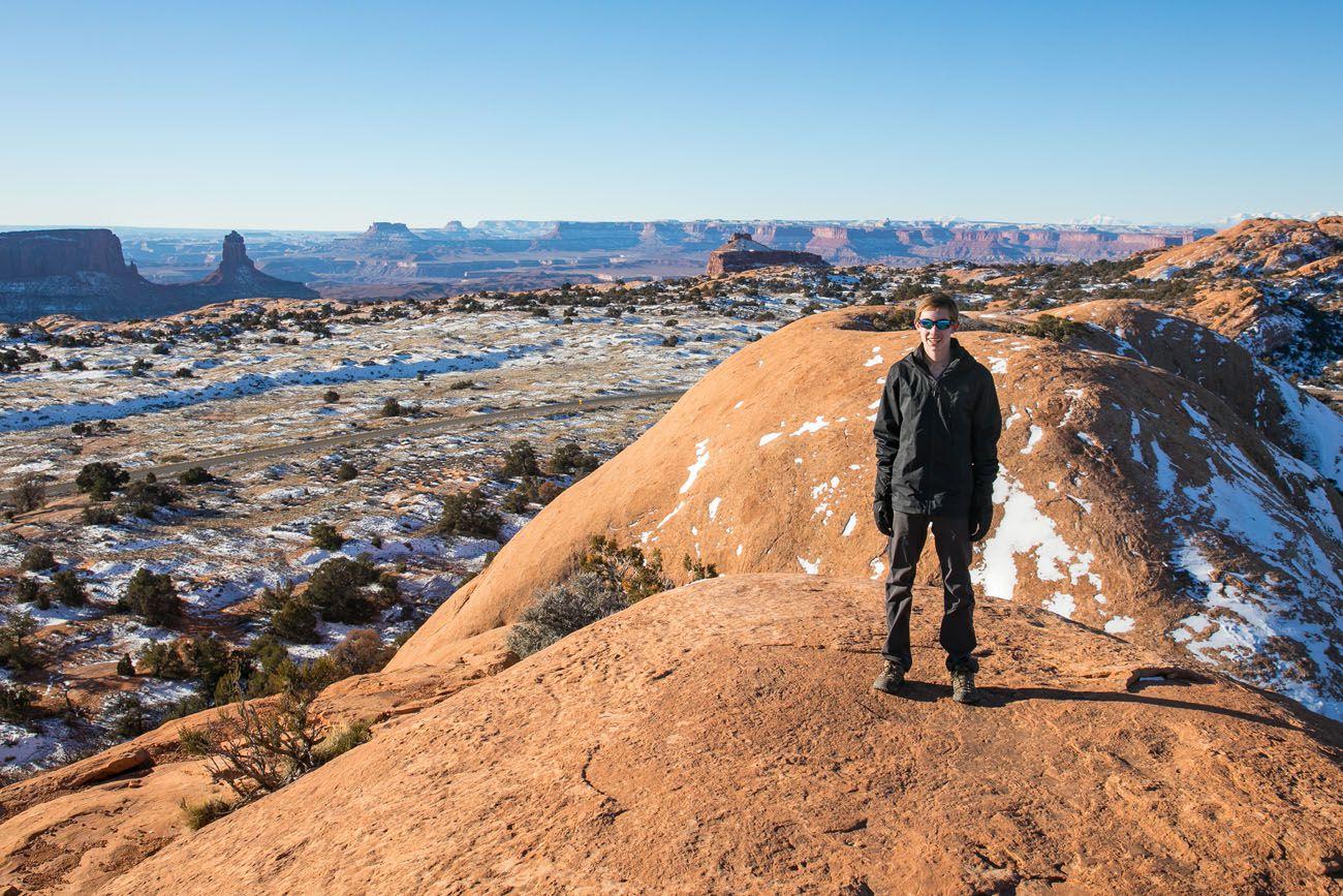Tyler on Whale Rock