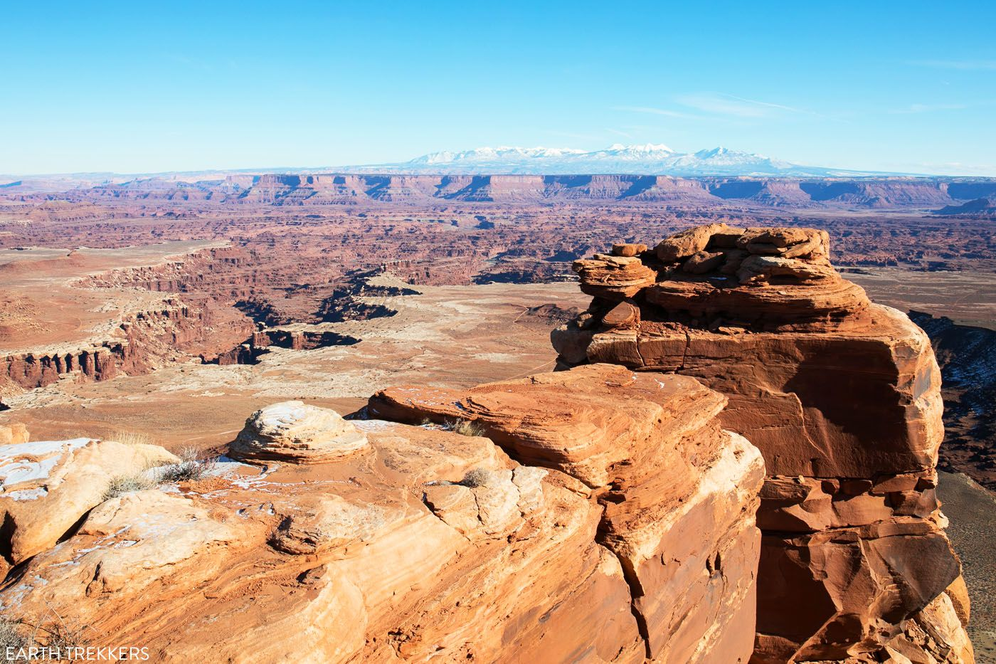 White Rim Overlook best things to do in Canyonlands