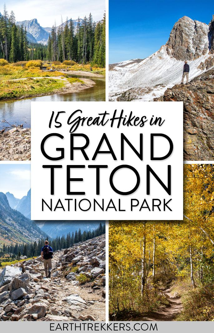 Best hikes in Grand Teton National Park