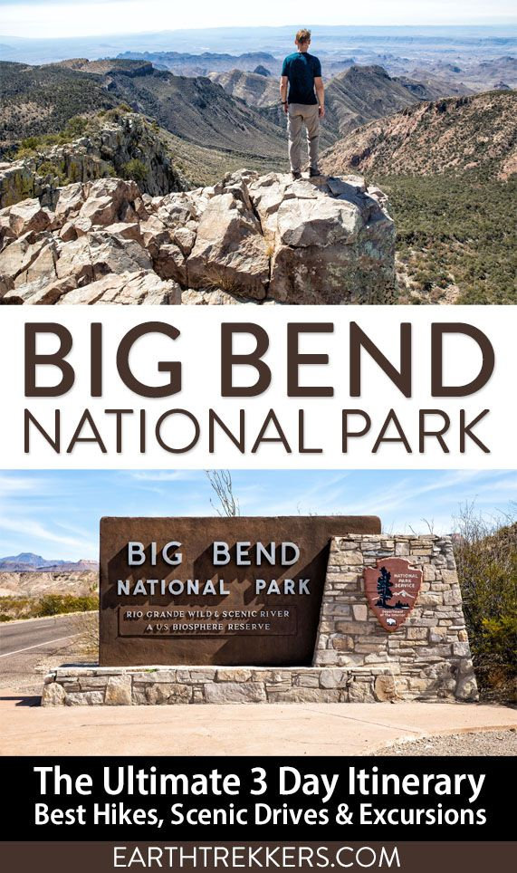 Big Bend National Park Itinerary Texas