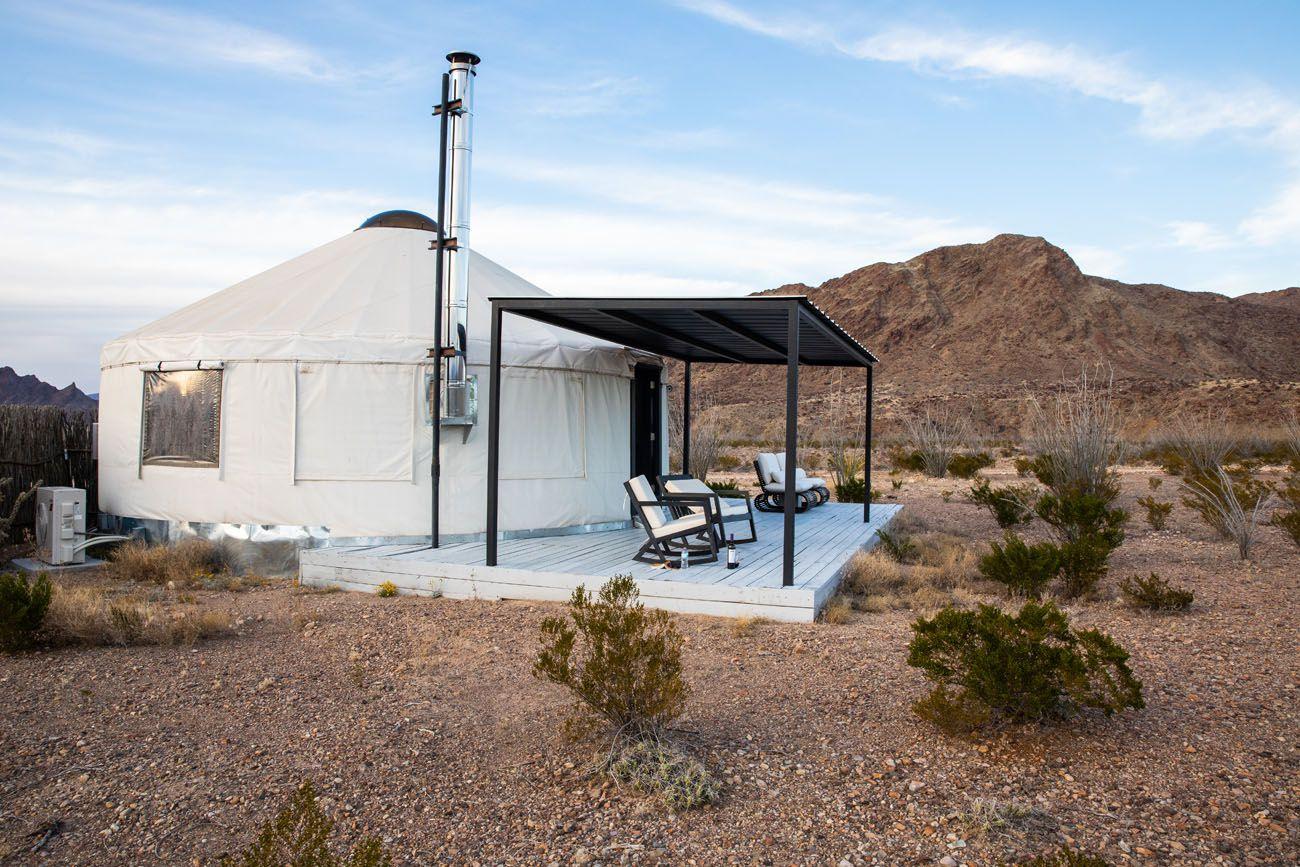 Big Bend Yurt