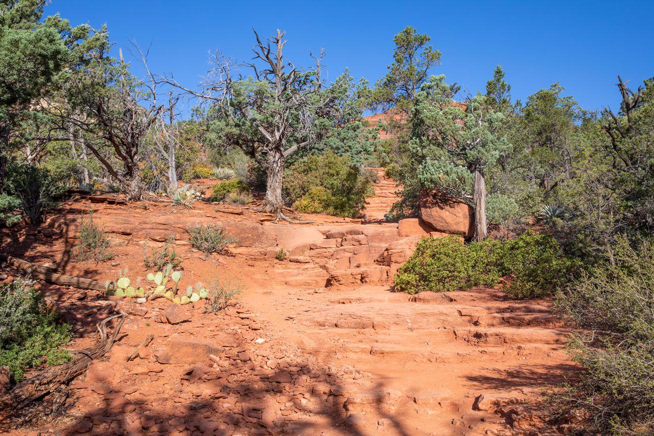 Brins Mesa Trail Stairs Brins Mesa - Soldier Pass Loop