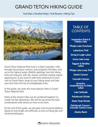 Grand Teton Hiking Guide