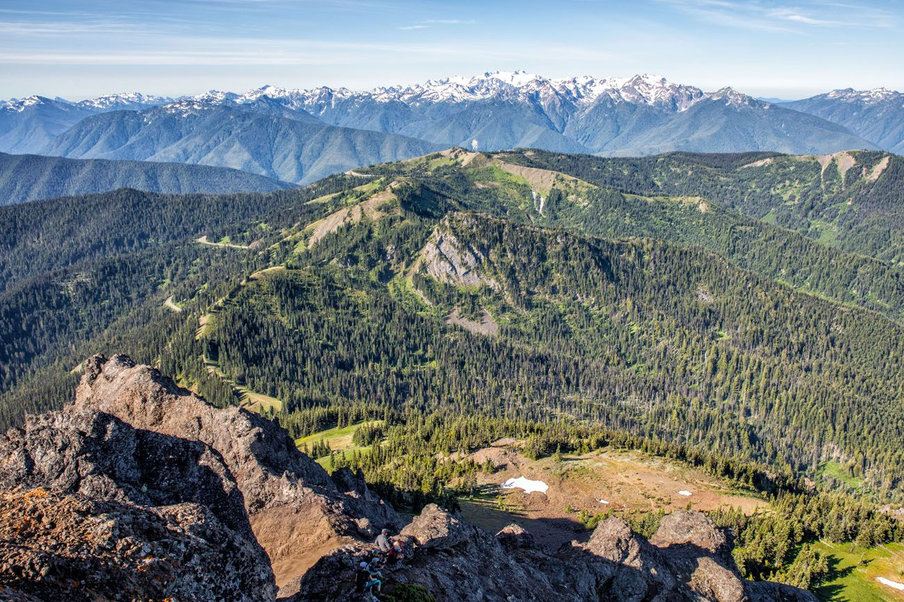 Hurricane Ridge Washington national parks