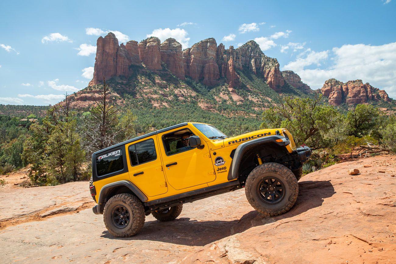 Jeep Rental Sedona