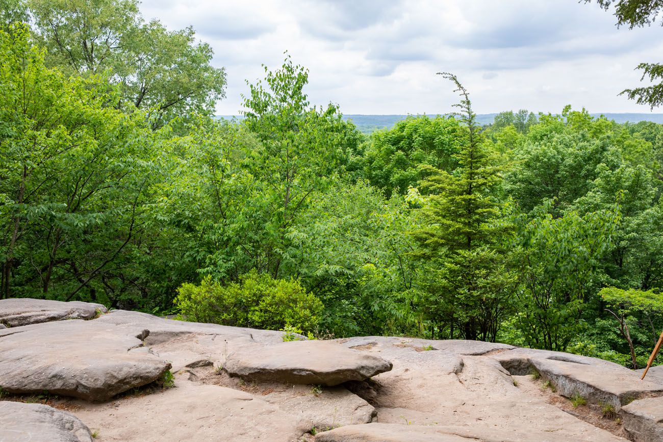 Ledges Overlook things to do in Cuyahoga Valley
