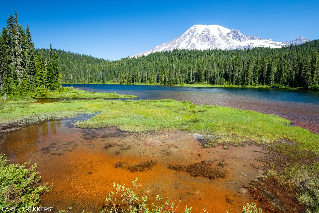 Mount Rainier Washington